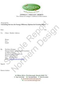 Energy Efficiency Sample Report