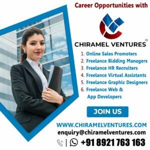 Career Opportunities with Chiramel Ventures