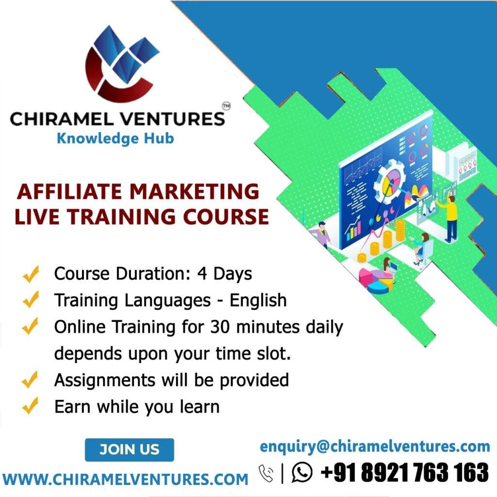 Affiliate Marketing Live Training Course