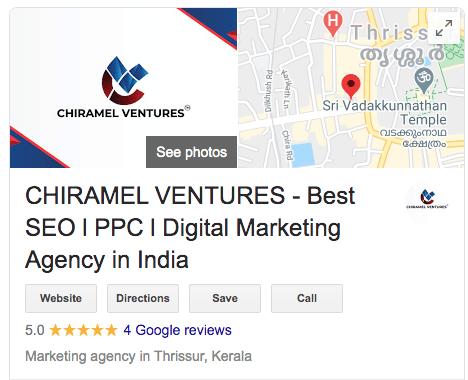 CHIRAMEL VENTURES - Best SEO l PPC l Digital Marketing Agency in Thrissur, Kerala, India