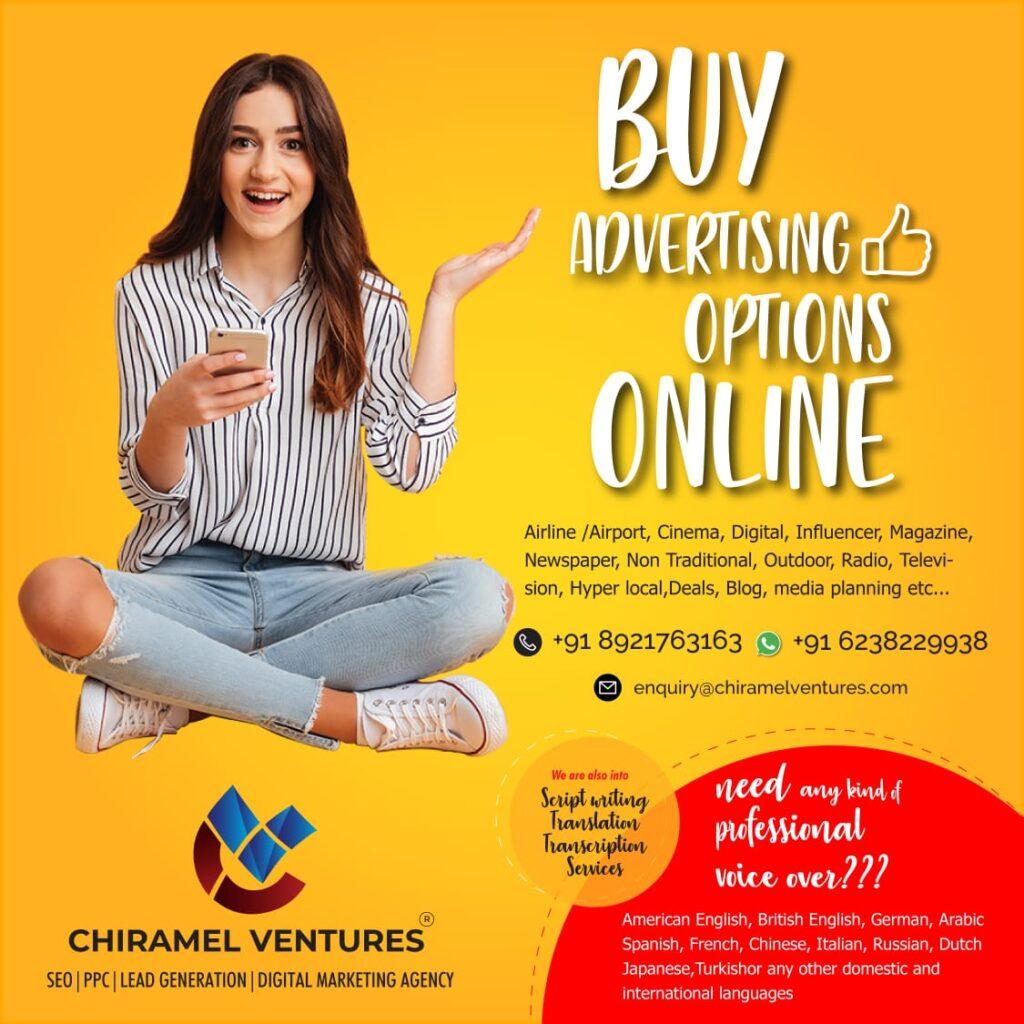 Online Advertising Options
