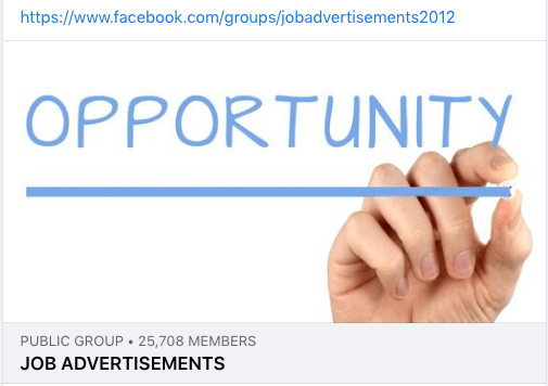 Job and Advertisement