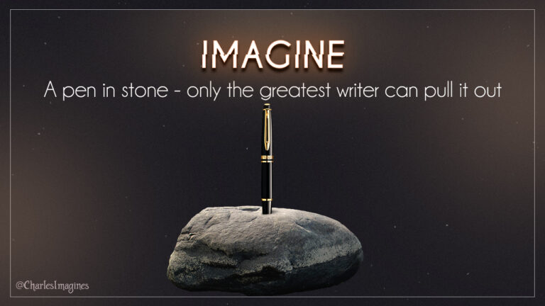 Imagine - Charles Sterling Author