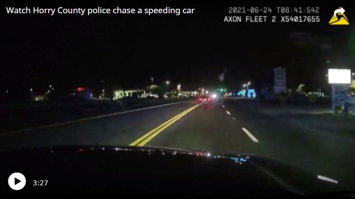 'He's upside down over here': Dashcam footage tells story of deadly Horry police chase