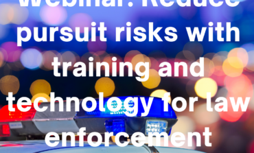 Webinar: Reduce pursuit risks with training and technology for law enforcement