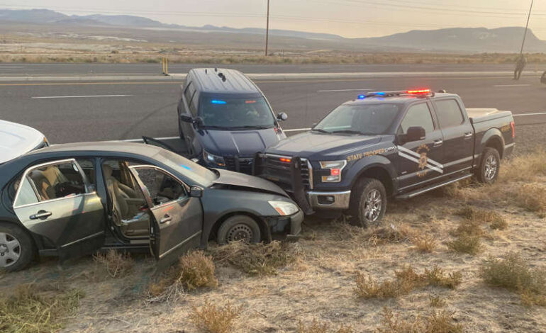 Robbery suspect arrested after high-speed chase from Reno to Fernley