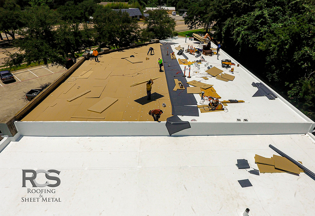 Commercial Roof Repair - Denton, Texas