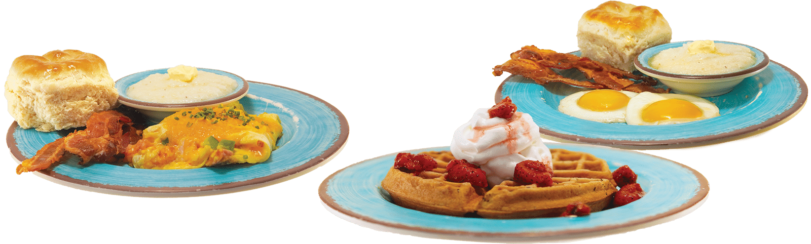 Eggs, Waffles and More Breakfast -McDavid's Cafe Southern Cuisine