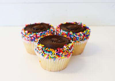 Vanilla Fudge Cupcake