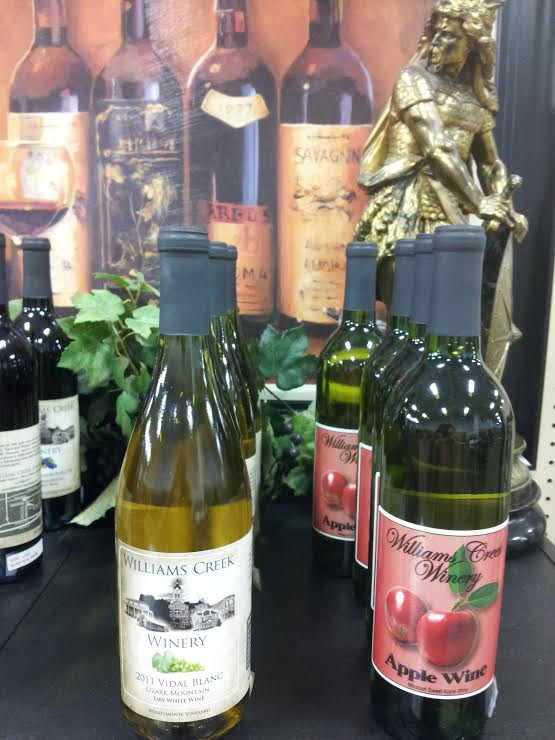 Local Wine Available to Purchase by the bottle at Relics Antique Mall, great gift idea!