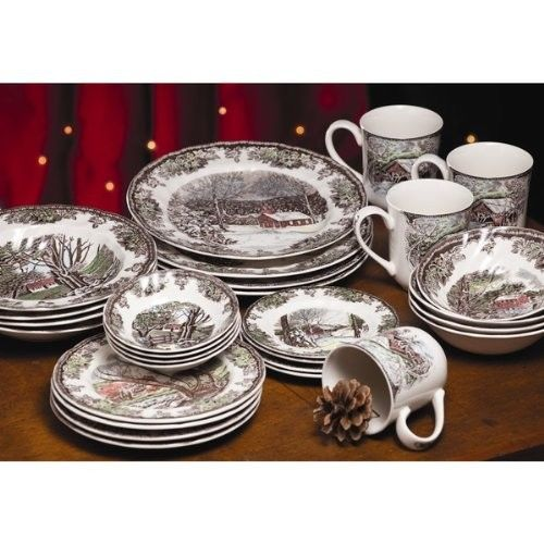 Johnson Brothers Friendly Village dishes
