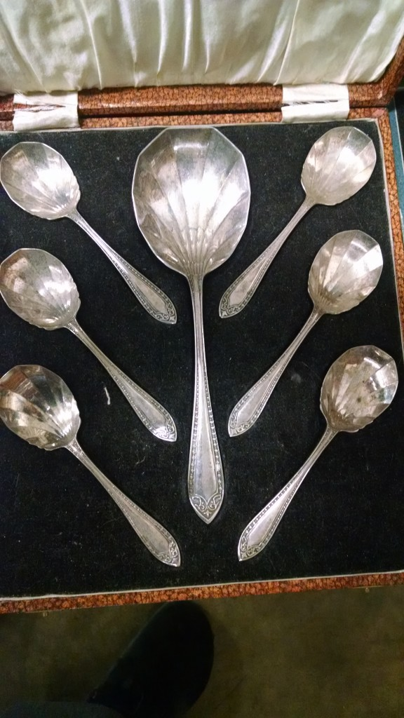 Silver Plated Spoon Set