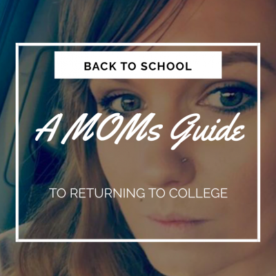 What Do I Want To Be When I Grow Up?  A MOMs guide to returning to College as an Adult