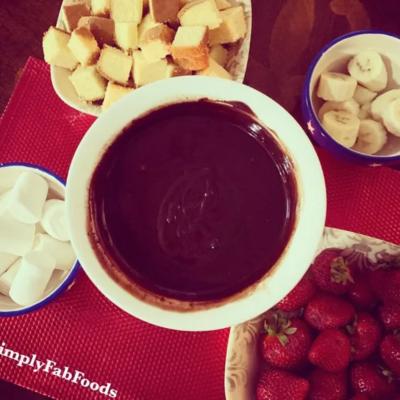 V's Chocolate Fondue