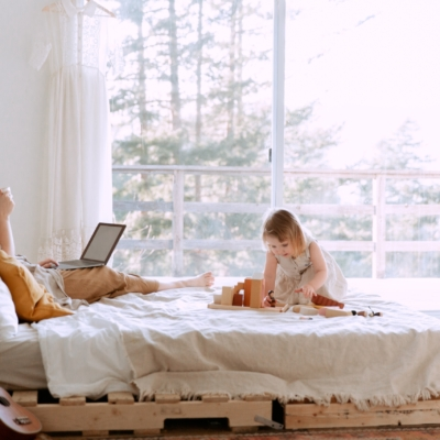 The Shake Up: How Losing Control As a MOM Can Make Room For Creating the Life You Want