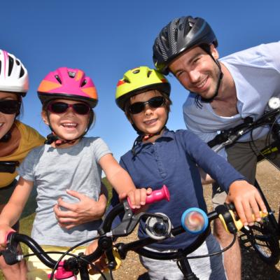 Family Bicycling Fun