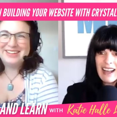 Tips on Building your Website with Crystal Silvas
