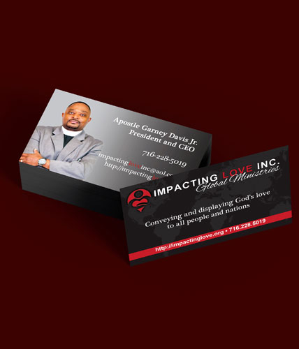 Impacting Love Inc. Business Cards