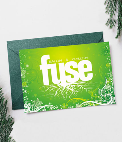 Fuse Salon Holiday Greeting Card