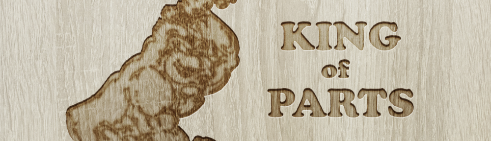Cropped image of an Auto Parts of Shelby engraved wood wallpaper for desktops, laptops, tablets