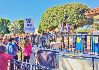 Dakota pipeline demonstration Jan 28 2017 in San Clemente (3)