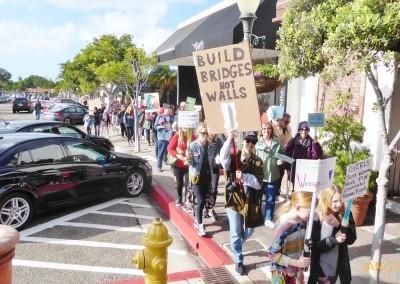 Women's March San Clemente January 21, 2017