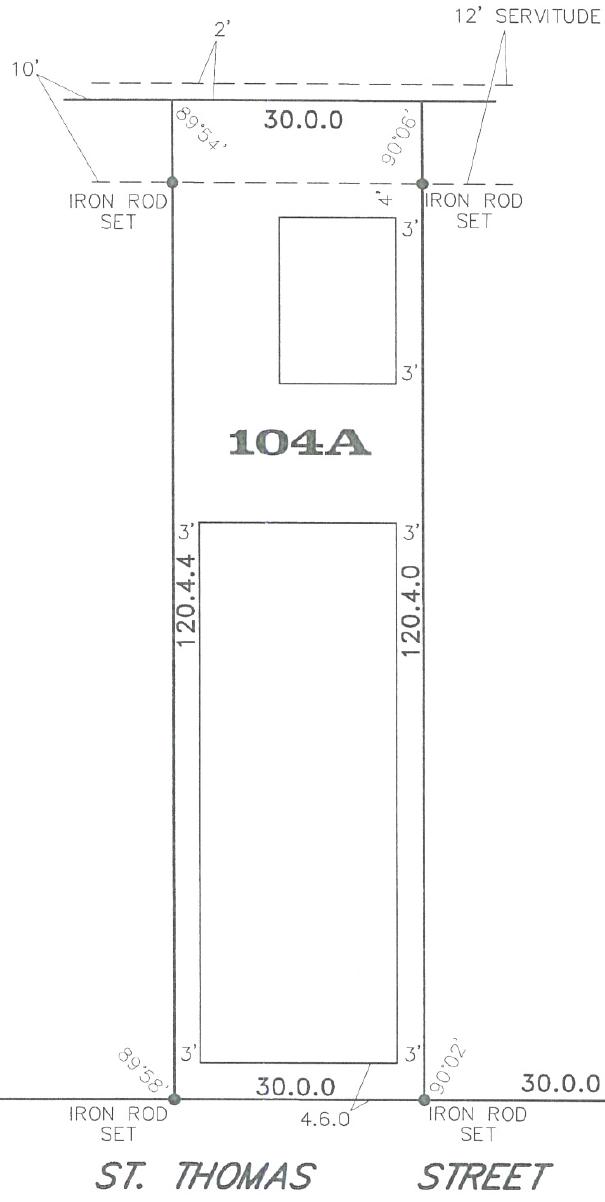 104A lot survey