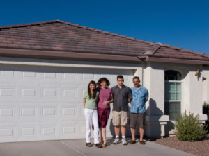 Family Safety garage door
