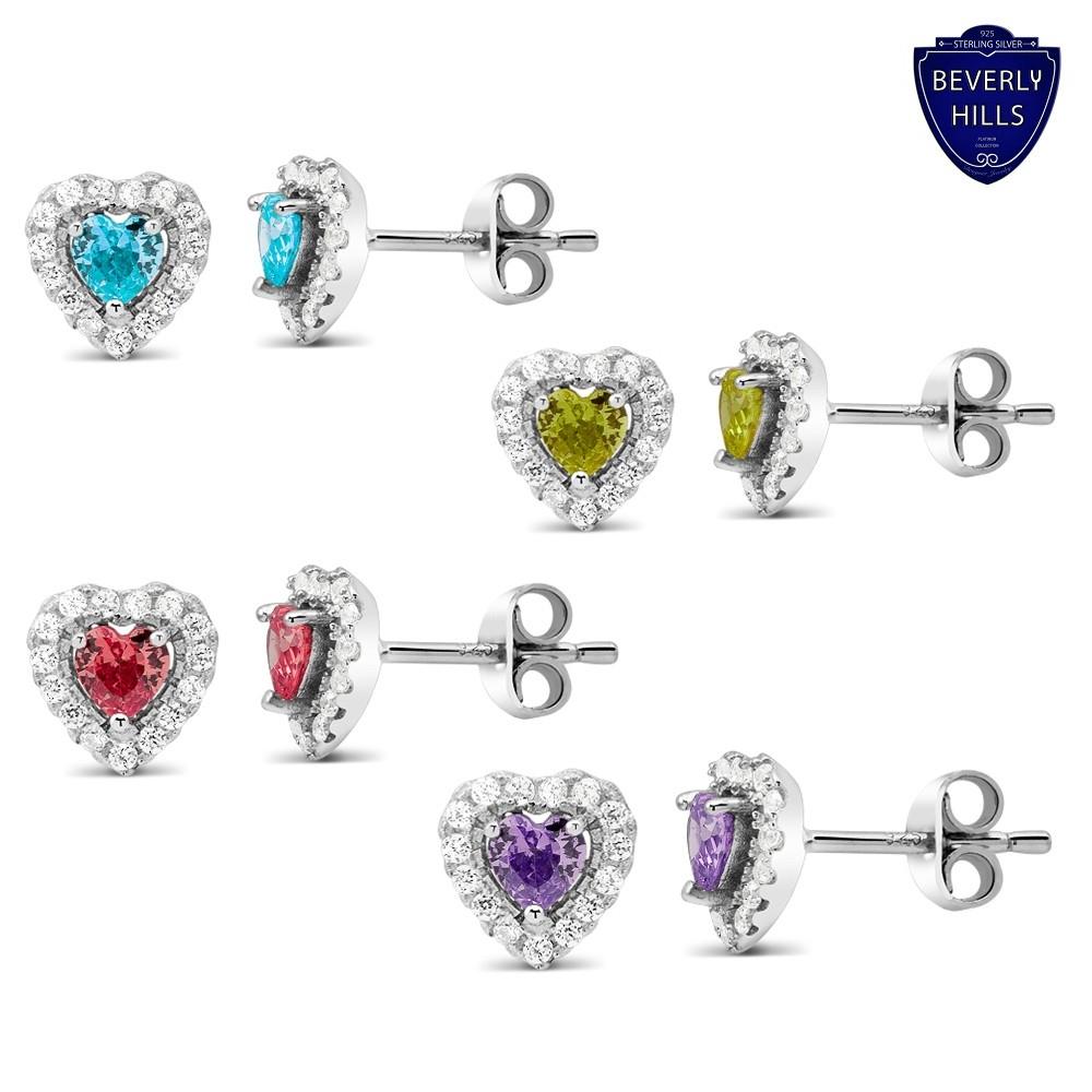 Bev Hills Silver Earrings