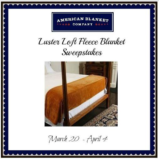 Luster Loft Fleece Blanket Sweepstakes