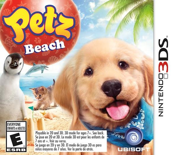 Petz Beach game cover