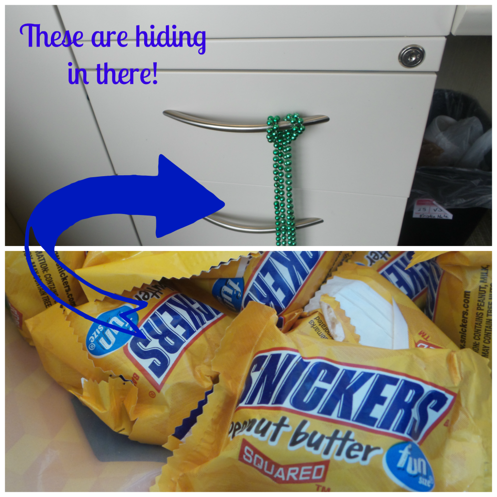 Snickers Drawer Stash