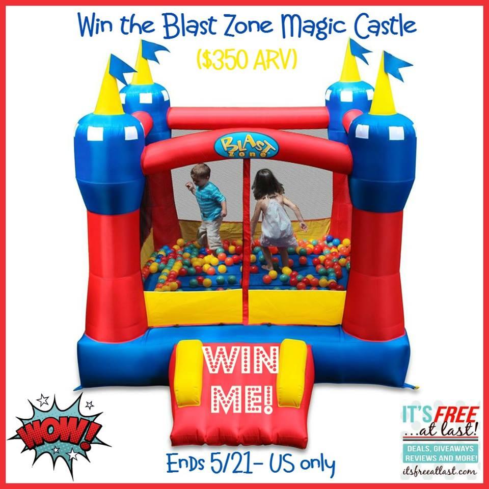 Blast Zone Bounce House Magic Castle