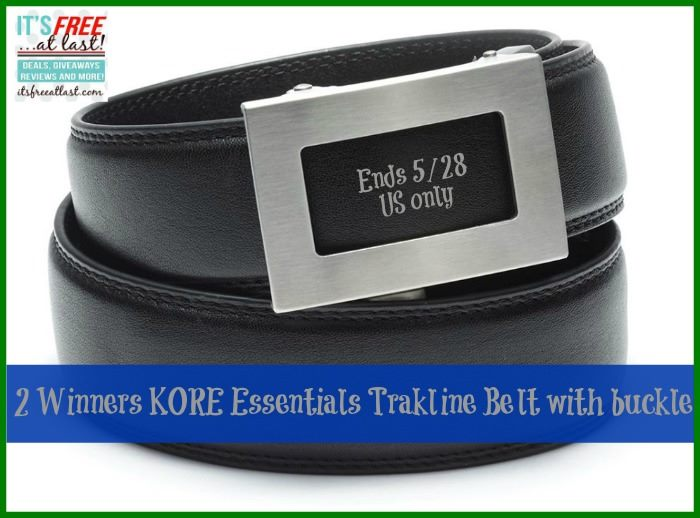 Enter To Win 1 Of 2 Kore Essentials Trakline Belts For Dad This Father S Day It S Free At Last I'd never heard of kore essentials belts until i saw a forum thread on sunday. it s free at last