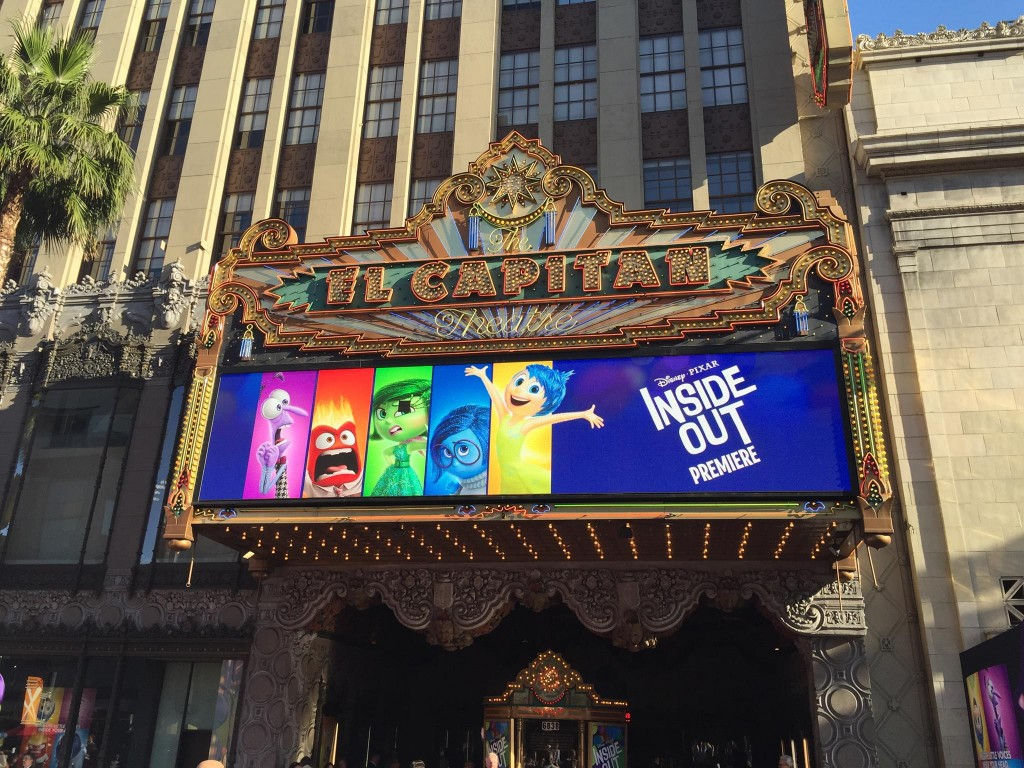 El Capitan Theater Inside Out Premiere #InsideOutEvent