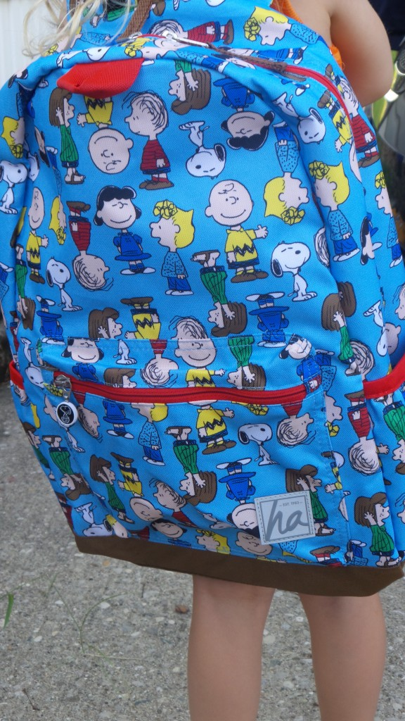 Back To School Peanuts Backpack