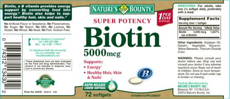 Biotin Label