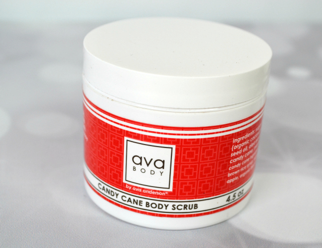 Ava Anderson Candy Cane Body Scrub #FAMChristmas