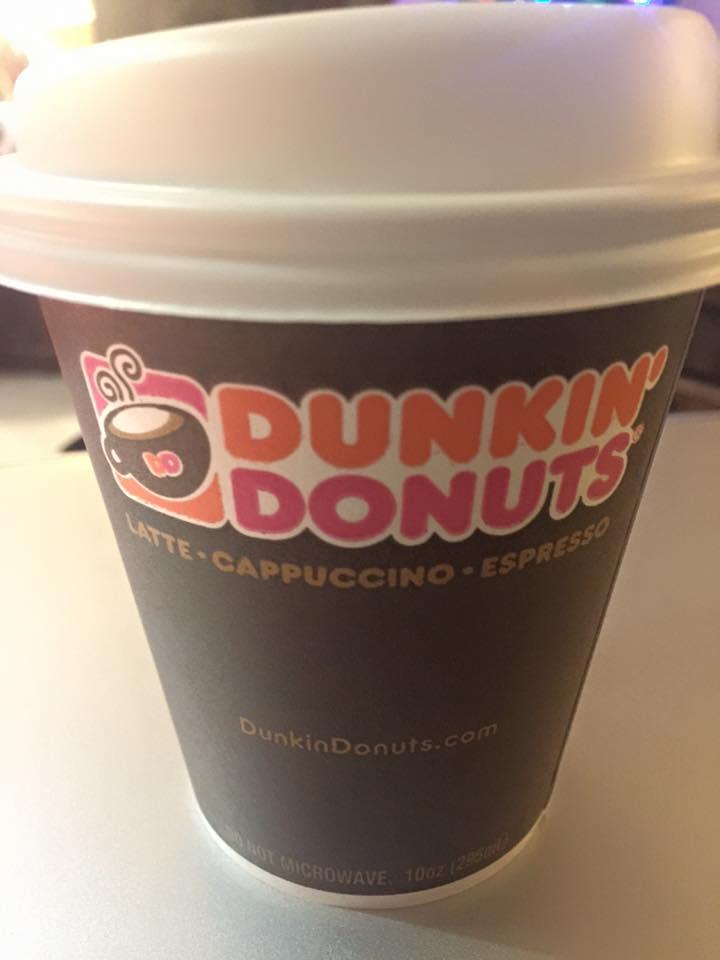 Dunkin' Donuts Latte