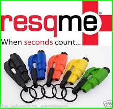 resqme's Quick Car Escape Keychain Tool