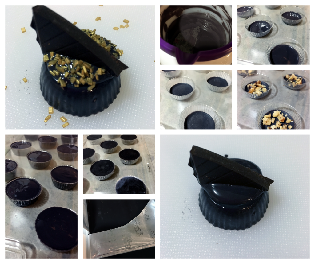 Oscars Inspired Chocolates with Nuts