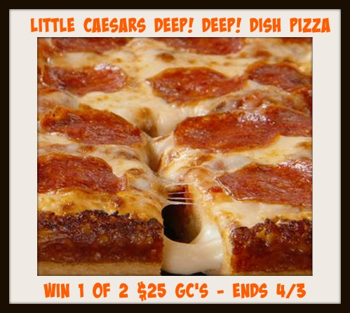 Little Caesars Gift Card Giveaway