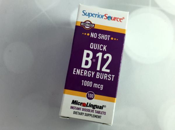 Superior Source Vitamin B-12 Energy Burst