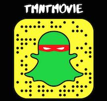 TMNT Snapchat