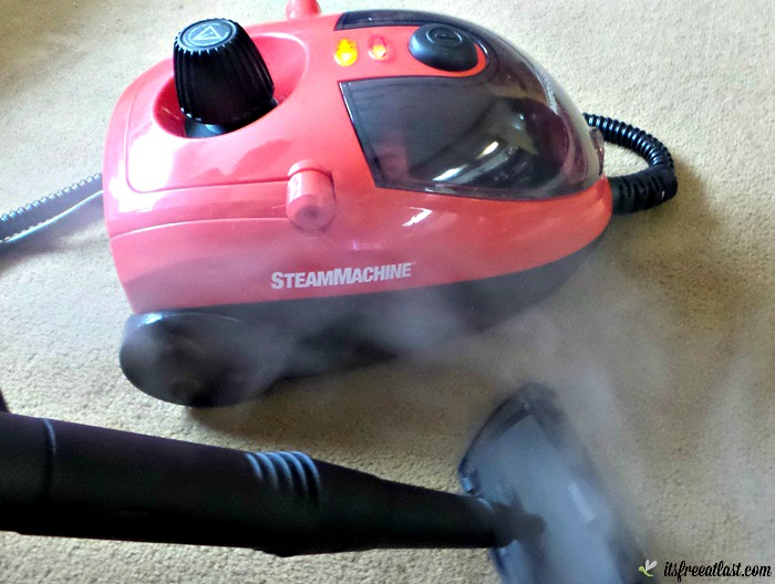 AutoRight SteamMachine for a Deep Chemical Free Clean