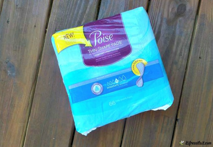 Poise Thin-Shaped Pads
