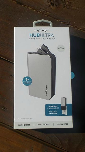 myCharge HubUltra Portable Charger