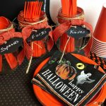 DIY Halloween Utensil Holder for Easy Party Decor