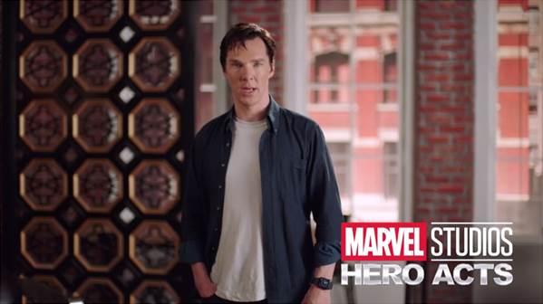 Benedict Cumberbatch Marvel Hero Acts