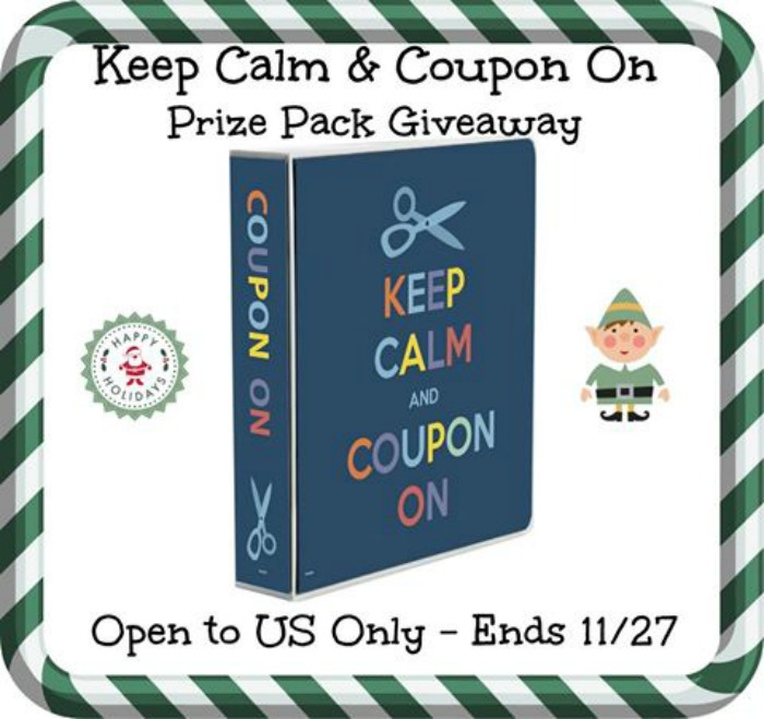 Keep Calm and Coupon On Prize Pack Giveaway